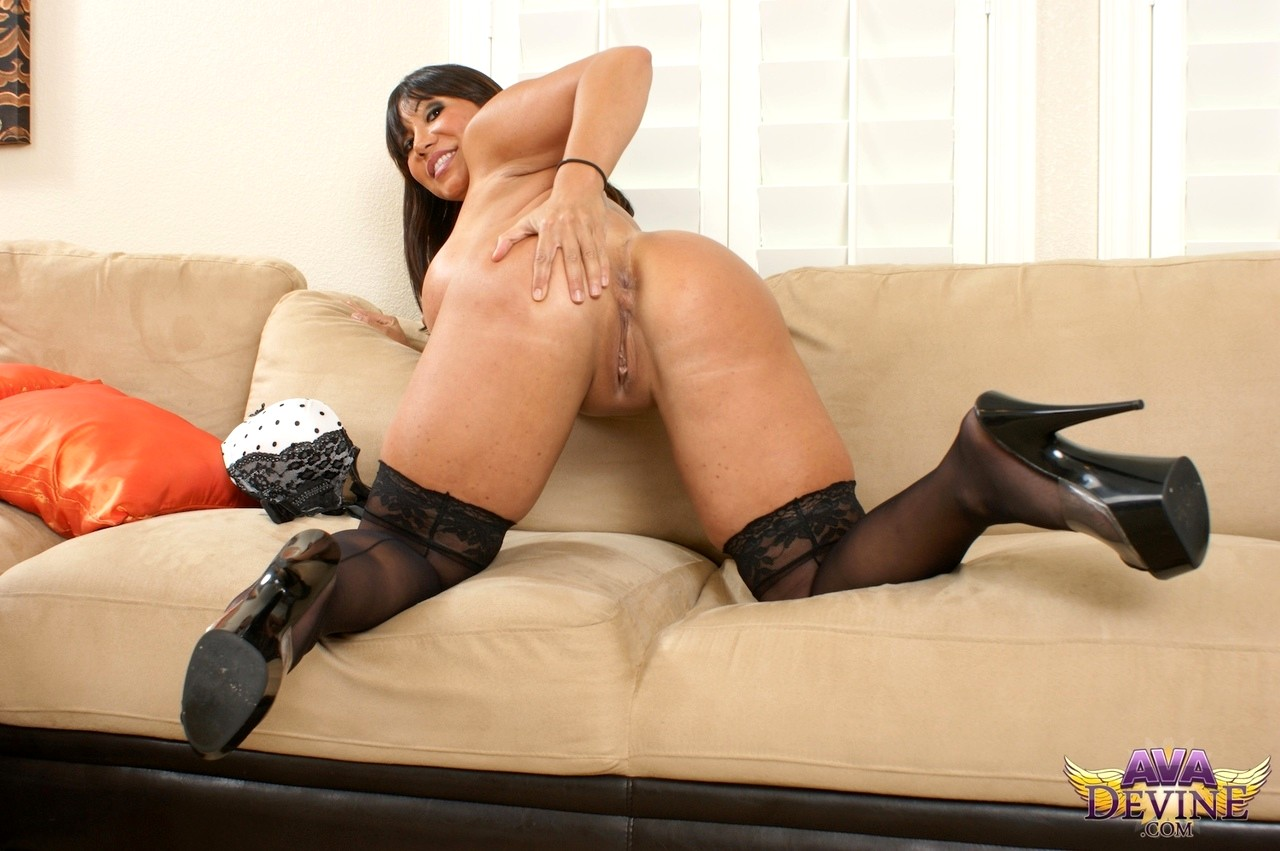 Ava devine stockings-9636