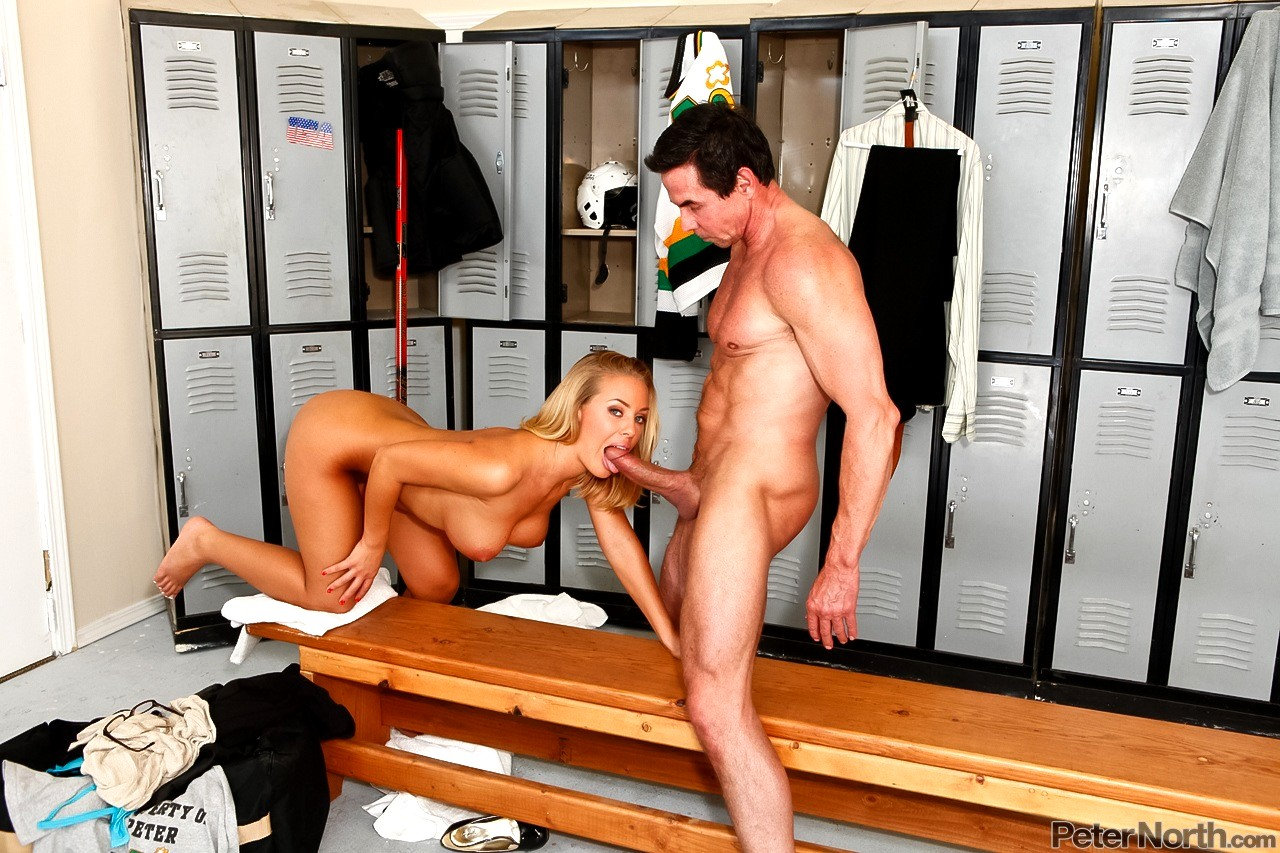 Nicole aniston and peter north
