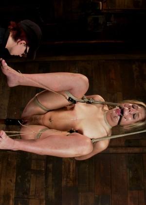 chastity lynn hogtied